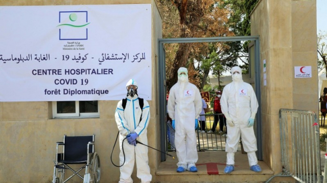 hôpital de campagne forêt diplomatique