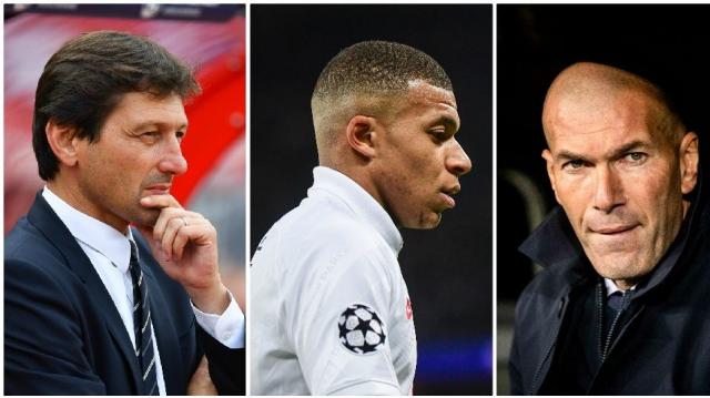 Leonardo, Mbappé, Zidane