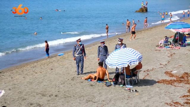 Déconfinement: plages d'Al Hoceima-1
