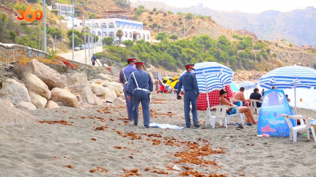 Déconfinement: plages d'Al Hoceima-7