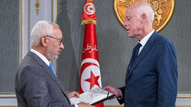 Saïed et Ghannouchi