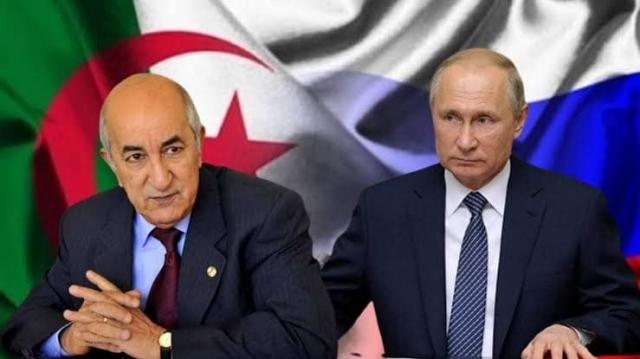 Tebboune et Poutine