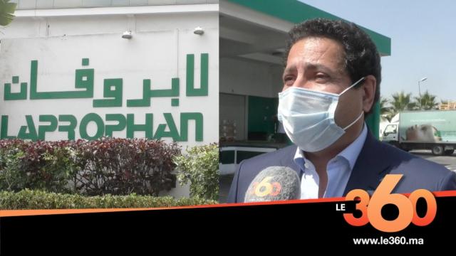 Cover Vidéo - Vidéo-Buzz: pris au piège lors d'un cérémonial d'accueil, le PDG de Laprophan, Farid s'explique, s'explique