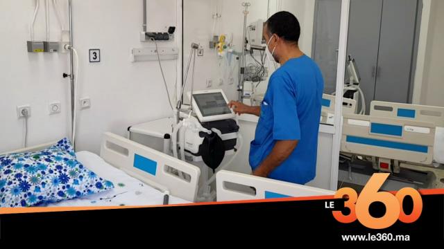 Cover_Vidéo: قسم انعاش جديد بأحدث المعدات لمرضى كورونا بطنجة