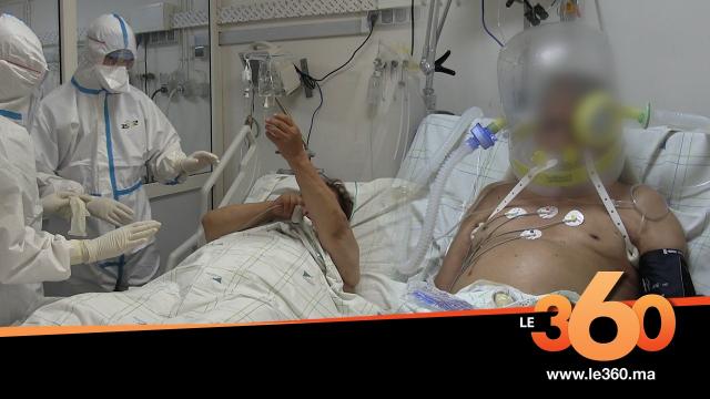 Cover Vidéo - من قلب مصلحة الانعاش كوفيد 19 بالمركز الاستشفائي ابن سينا الرباط