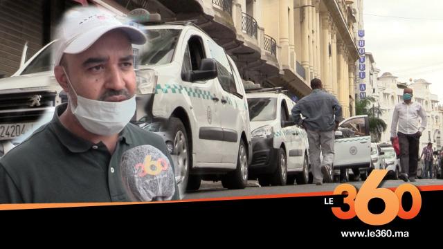 Cover_Vidéo: فوضى التاكسيات بالدار البيضاء بسبب تجاوز البعض للتدابير الاحترازية