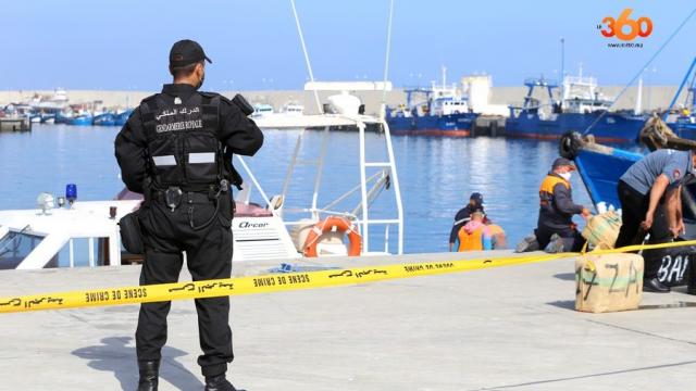 Tanger saisie cannabis Gendarmerie royale-3