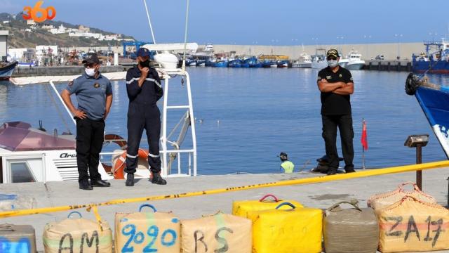 Tanger saisie cannabis Gendarmerie royale-4
