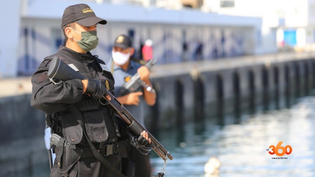 Tanger saisie cannabis Gendarmerie royale-5