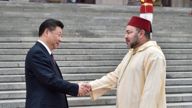 Mohammed VI et Xi JINPING