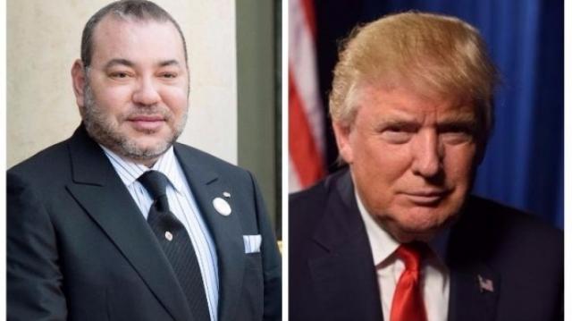 Mohammed VI et Donald Trump