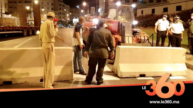 Cover Vidéo - طنجة تغلق شوارعها من جديد لحصار كورونا
