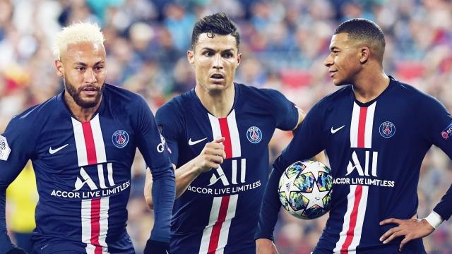 Neymar, CR7 et Mbappé