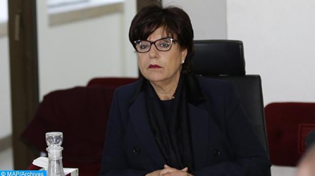 Khadija Benchouikh, gouverneure de la préfecture d'arrondissement de Hay Hassani