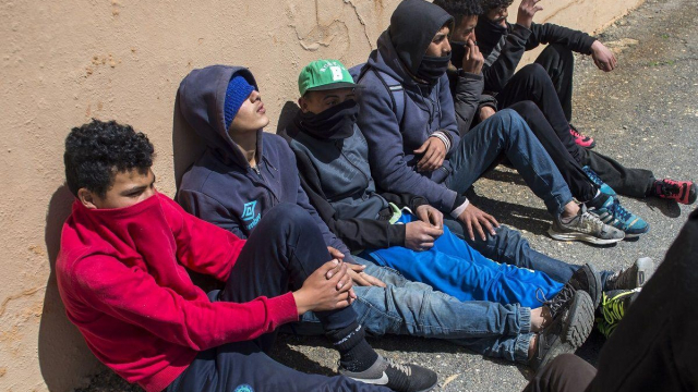Mineurs marocains Europe