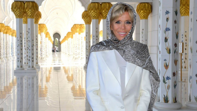 Brigitte Macron à Abu Dhabi