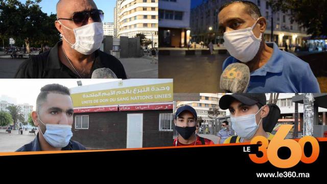 cover vidéo :Le360.ma • هكذا علق البيضاويون على تمديد فترة العمل بالتدابير المشددة ضد كورونا