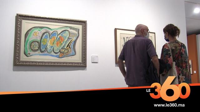 cover: Inédite exposition de Jilali Gharbaoui 50 ans après sa disparition