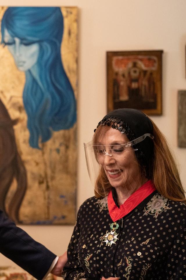 Fayrouz reçoit la légion d'honneur