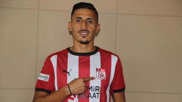 Fayçal Fajr, nouveau joueur du club turc de Sivasspor.