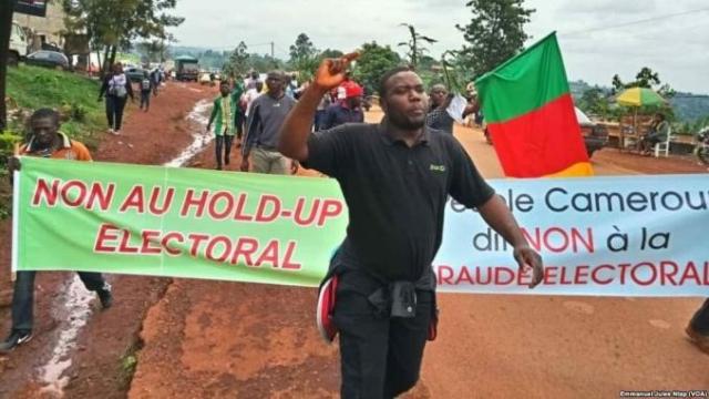 Elections camerounaises