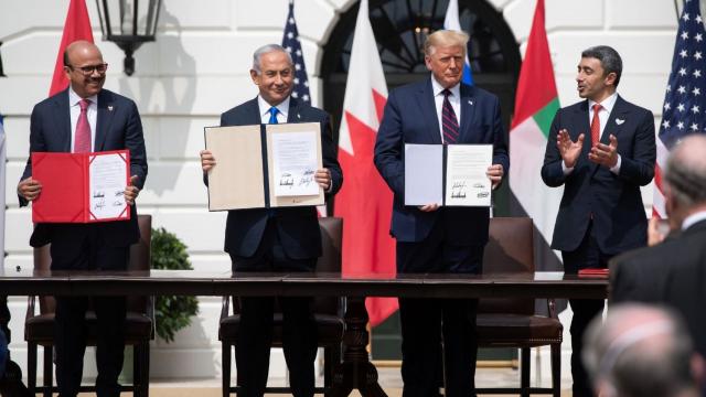 Normalisation Israël - Emirats - Bahreïn