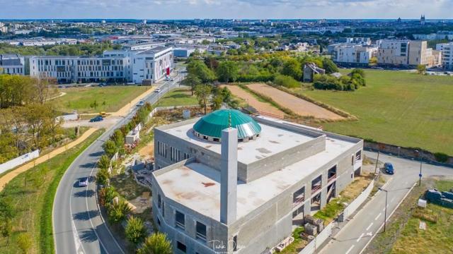 La mosquée d'Angers