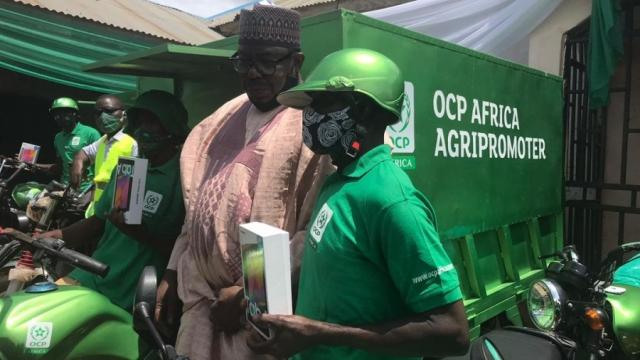 Riziculture: l'OCP fournira des engrais adaptés à la Côte d'Ivoire