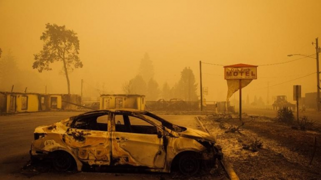 Incendies Oregon
