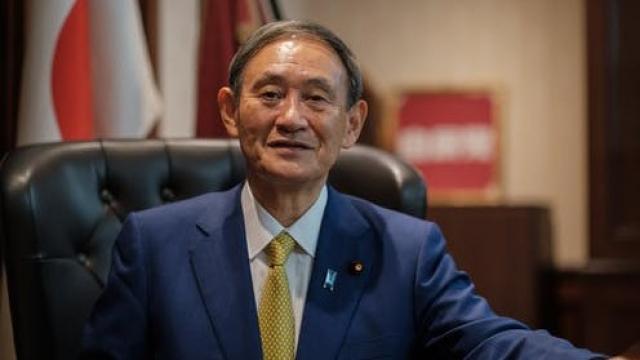 Yoshihide Suga Premier ministre Japon