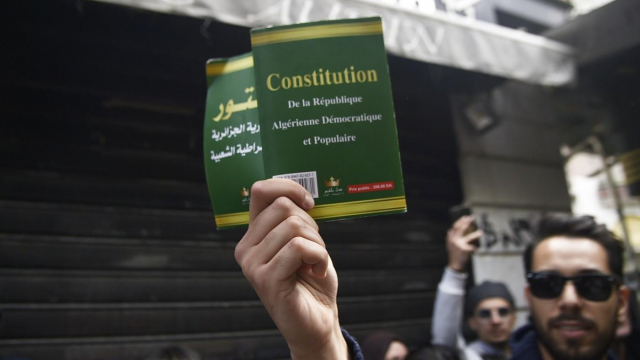 Constitution Algérie