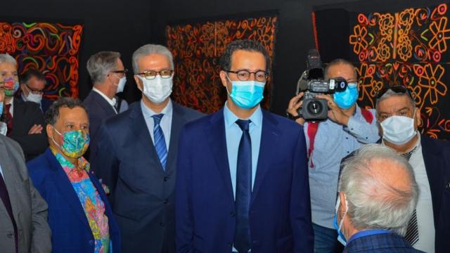 L'inauguration de l'exposition «Foum Zguid-du Sel au Fil» au musée des Confluences-Dar El Bacha à Marrakech 1