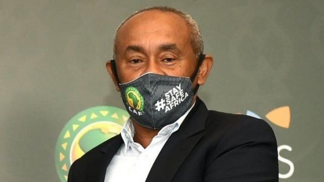 Ahmad Ahmad, président de la Confédération africaine de football (CAF) .