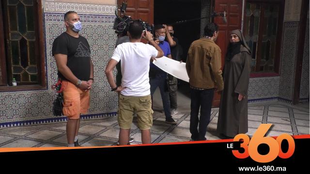 """Cover Vidéo .   كواليس تصوير المسلسل المغربي الجديد """"البيوت أسرار"""""""