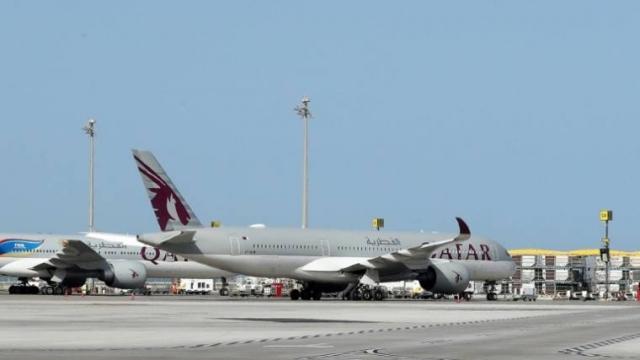 Tarmac aéroport Doha - Qatar