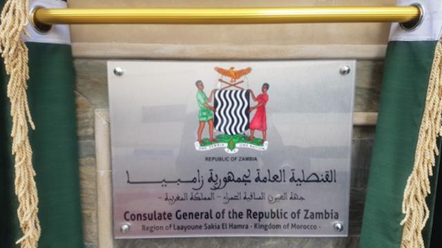 Consulat - Zambie - Laâyoune -