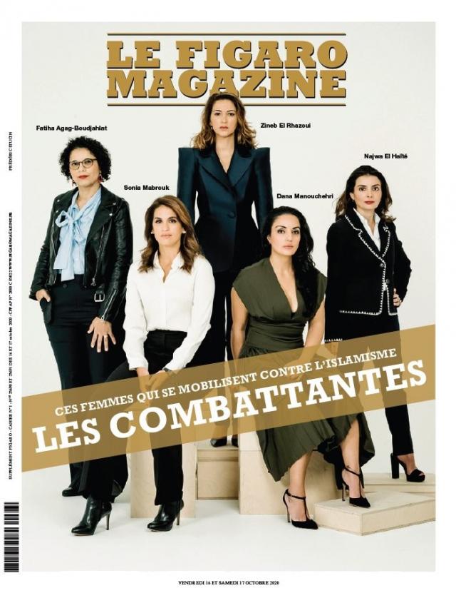 Les combattantes» en lutte contre l'islamisme: la couv' du «Figaro Magazine» qui divise les Français | www.le360.ma