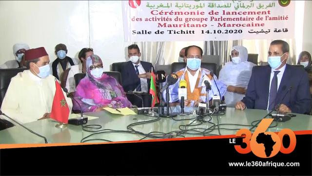 Mauritanie: naissance d'un Groupe parlementaire d'amitié mauritano-marocaine