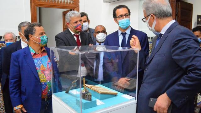 L'inauguration de l'exposition «Foum Zguid-du Sel au Fil» au musée des Confluences-Dar El Bacha à Marrakech 2