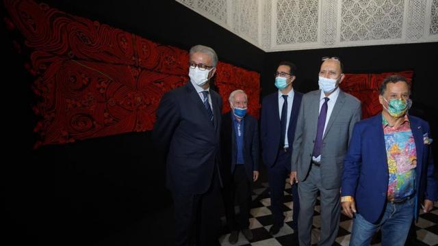 L'inauguration de l'exposition «Foum Zguid-du Sel au Fil» au musée des Confluences-Dar El Bacha à Marrakech 4