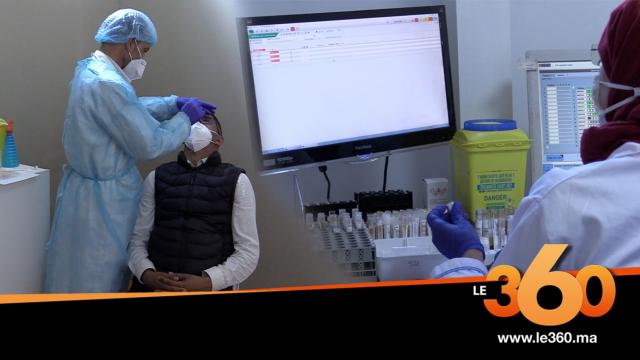 Cover_Vidéo: داخل المختبر الميداني للكشف عن كورونا بدرب السلطان