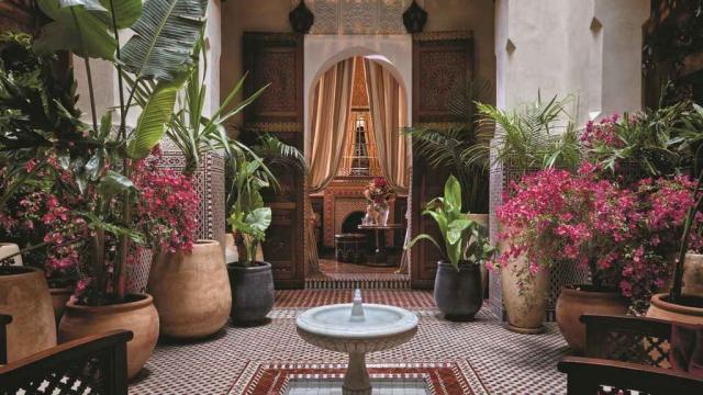 Le Royal Mansour Marrakech sacré meilleur hôtel d'Afrique en 2020. 6