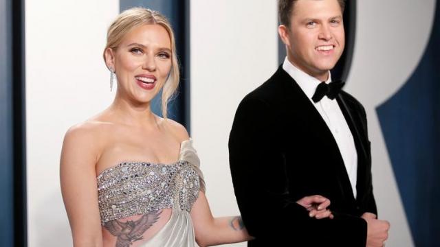 Scarlett Johansson et Colin Jost - Mariage