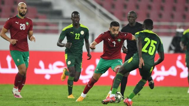 Hakim Ziyech contre le Sénégal, le 9 octobre 2020.