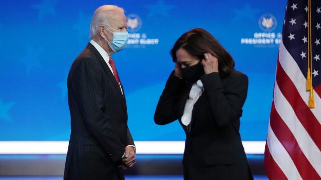 Joe Biden - Kamala Harris - Visioconférence - Wilmington