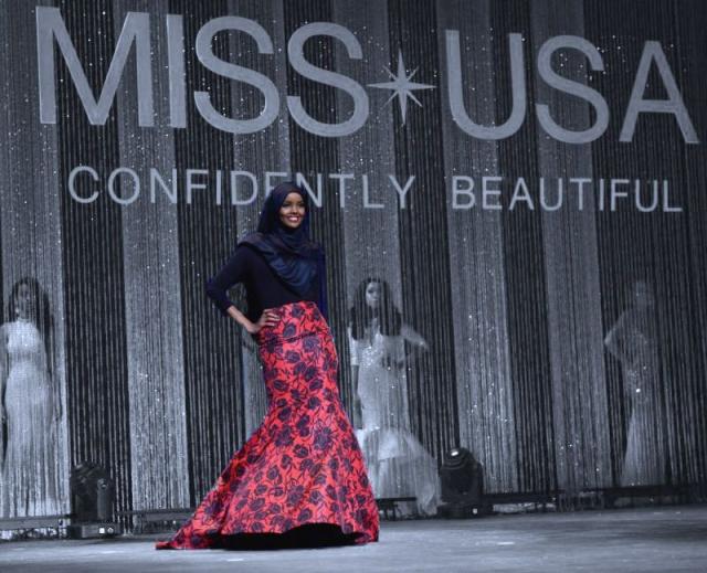 Halima Aden au concours Miss Usa Minnesota