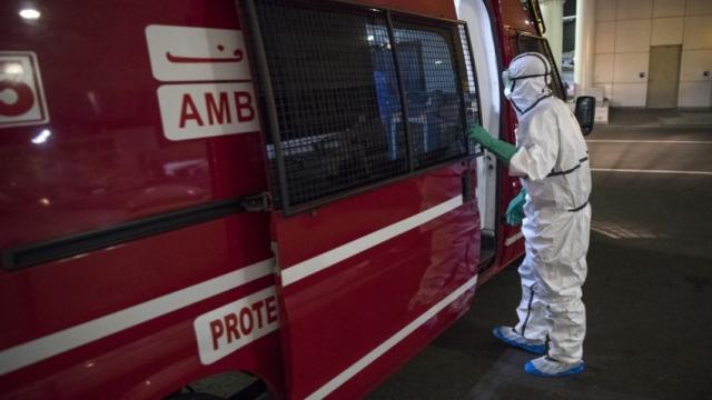 Coronavirus Maroc, ambulance
