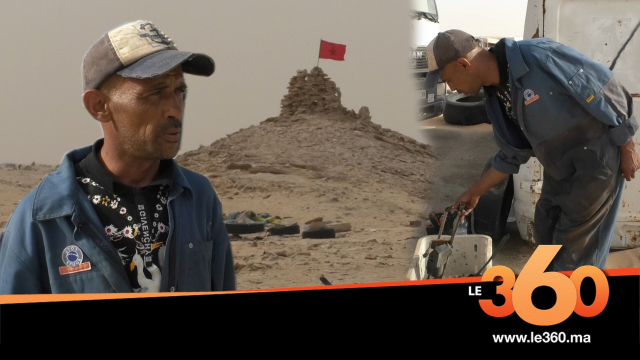"""Cover_Vidéo: El Guerguarat: Moi, El Bahja, dépanneur à """"Kandahar"""""""