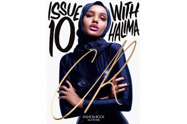 Halima Aden en cover de CR Fashion Book