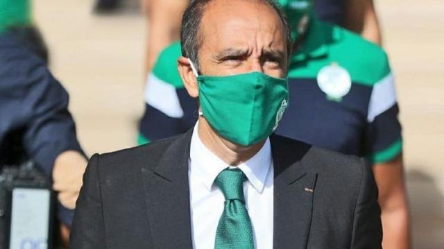 Jawad Ziyat, président démissionnaire du Raja de Casablanca.
